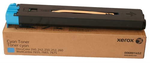 Оригинальный тонер-картридж Xerox 006R01452 (34000 стр., голубой)