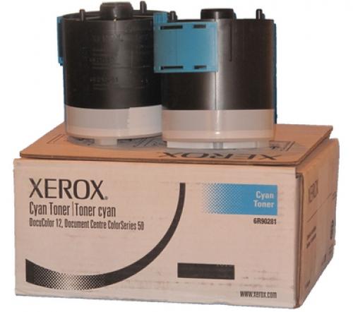 Оригинальный тонер-картридж Xerox 006R90281 4 штуки (30000 стр., голубой)