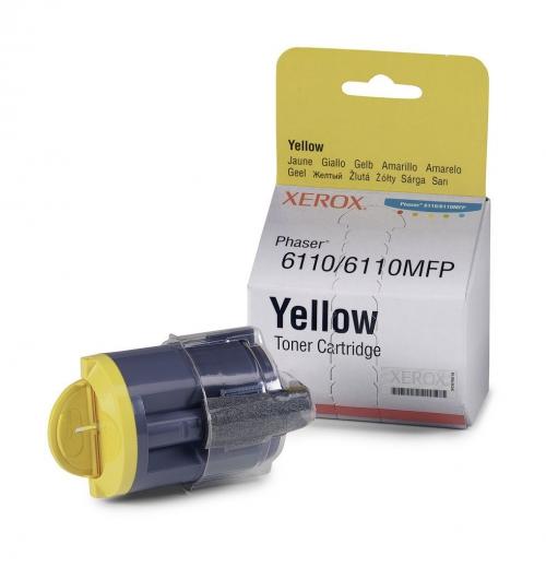 Оригинальный тонер-картридж Xerox 106R01204 (1000 стр., желтый)