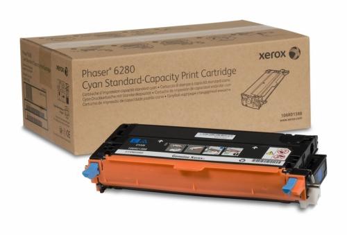 Оригинальный тонер-картридж Xerox 106R01400 (5900 стр., голубой)