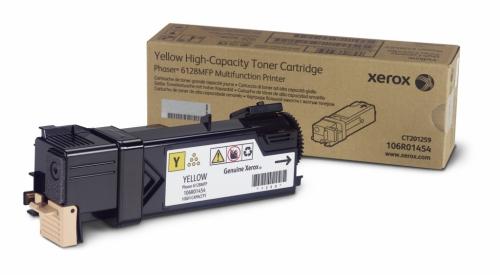 Оригинальный тонер-картридж Xerox 106R01458 (2500 стр., желтый)