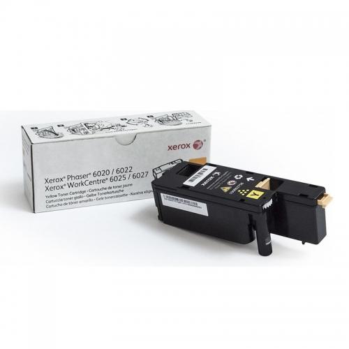 Оригинальный тонер-картридж Xerox 106R02762 (1000 стр., желтый)