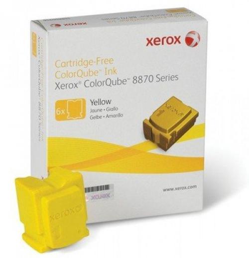 108R00960 Чернила желтые (6x2,88K) Phaser 8870
