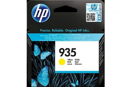 (Уценка)Оригинальный картридж HP C2P22AE (935) (400 стр., желтый)