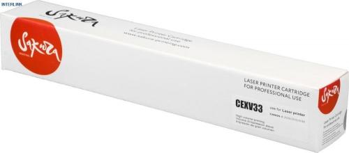 Тонер-туба SAKURA CEXV33 для Canon, черный, 14 600 стр