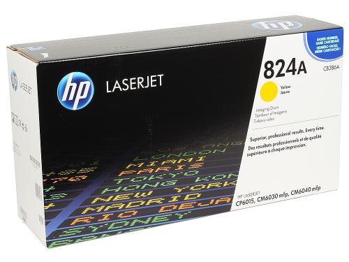 (Уценка)Фотобарабан HP CB386A - НТВ-1 для Color LaserJet CP6015, CM6030, CM6040  желтый  (23 000 стр.)
