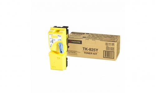 (Уценка) Тонер-картридж TK-825Y 7 000 стр. Yellow для KM-C2520/C2525E/C3225/C3232/3232E/C4035E