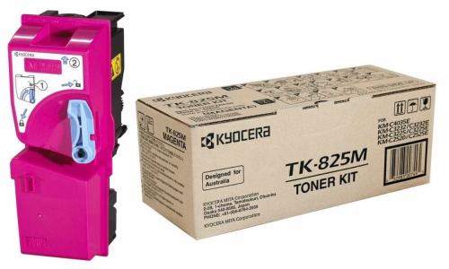 (Уценка) Тонер-картридж TK-825M 7 000 стр. Magenta для KM-C2520/C2525E/C3225/C3232/3232E/C4035E