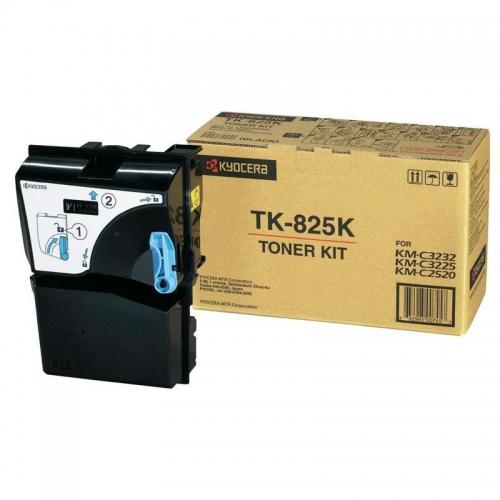 (Уценка) Тонер-картридж TK-825K 15 000 стр. Black для KM-C2520/C2525E/C3225/C3232/3232E/C4035E