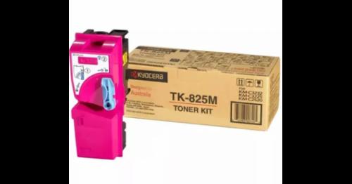 (Уценка)Тонер-картридж Kyocera TK-825M - НТВ-1 для KM C2520/C2525E/3225/3232 пурпурный (7 000 стр.)