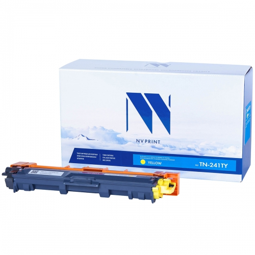 Картридж NVP совместимый NV-TN-241T Yellow для Brother (1400 стр)