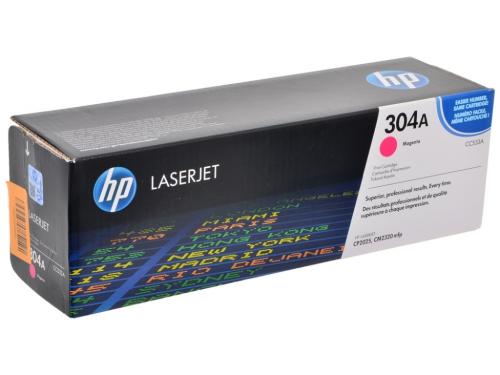 (Уценка)Картридж HP CC533A - НТВ-1 для Color LaserJet CP2025, CM2320  пурпурный  (2 800 стр.)