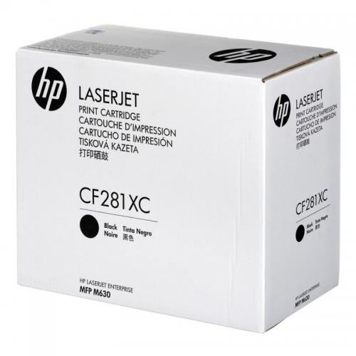 ОРИГИНАЛЬНЫЙ КАРТРИДЖ HP CF281XC (ЧЕРНЫЙ, 25000 СТР.) ДЛЯ HP LASERJET ENTERPRISE M630DN / M630F / M630H / M630Z