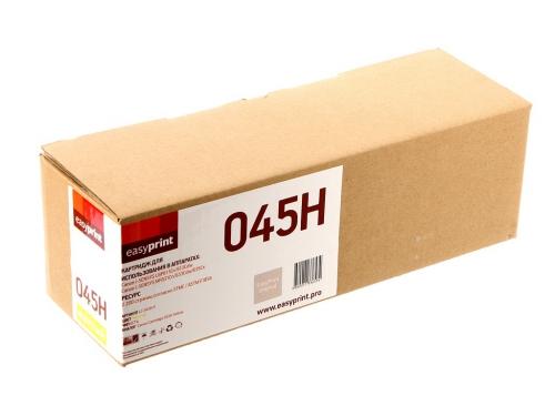 045H Картридж EasyPrint LC-045H Y для Canon i-SENSYS LBP611Cn/613Cdw/MF631Cn/633Cdw/635Cx (2200 стр.) желтый, с чипом