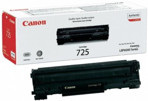 (Уценка)Картридж Canon 725 3484B005 - НТВ-1 для i-SENSYS LBP6000, LBP6000B  черный  (1 600 стр.)