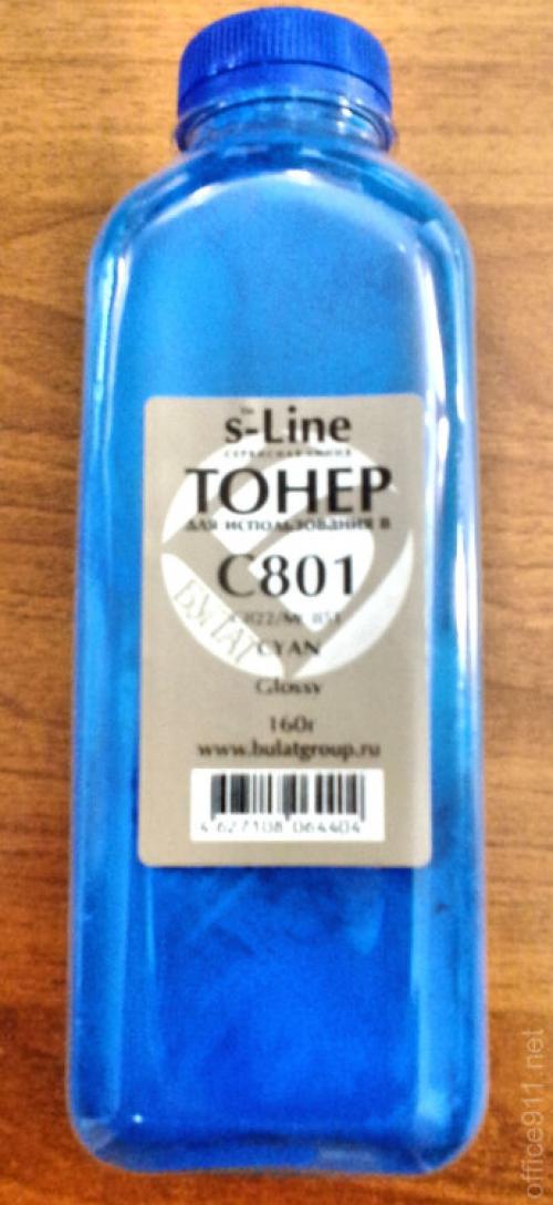 (Уценка)Тонер Oki C822/801 банка 240г С булат