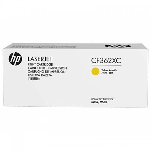 ОРИГИНАЛЬНЫЙ КАРТРИДЖ HP CF362XC (ЖЁЛТЫЙ, 9500 СТР.) ДЛЯ HP COLOR LASERJET ENTERPRISE M552DN, M553DN / M553N