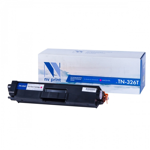 Картридж NVP совместимый NV-TN-326T Magenta для Brother (4000 стр)