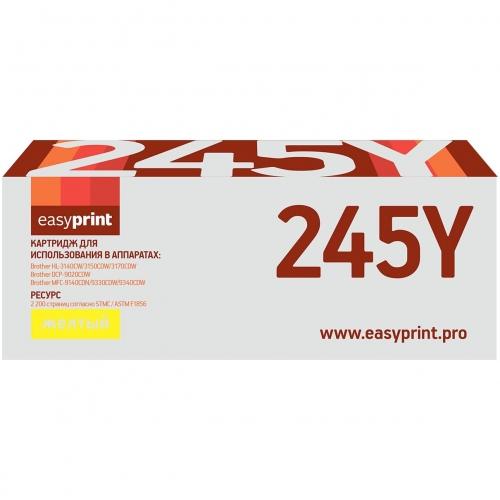 245Y Картридж EasyPrint LB-245Y для Brother HL-3140CW/3170CDW/DCP-9020CDW/MFC-9330CDW (2200 стр.) желтый