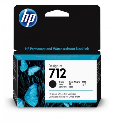Картридж струйный HP 712 (38 мл., черный) 3ED70A