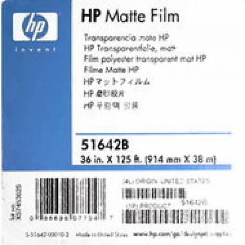 Матовая пленка HP 914 мм x 38,1 м 160г/м2
