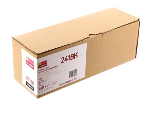 241BK Картридж EasyPrint LB-241BK для Brother HL-3140CW/3170CDW/DCP-9020CDW/MFC-9330CDW (2500 стр.) черный