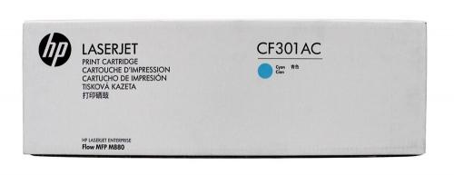 ОРИГИНАЛЬНЫЙ КАРТРИДЖ HP CF301AC (СИНИЙ, 32000 СТР.) ДЛЯ HP COLOR LASERJET ENTERPRISE FLOW M880Z | M880Z+