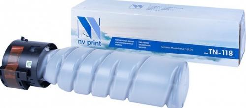 Картридж NV Print TN-118 для принтеров Konica Minolta 215/ 226, 9000 страниц