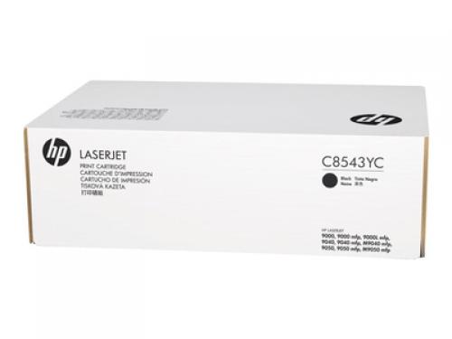 ОРИГИНАЛЬНЫЙ КАРТРИДЖ HP C8543YC (30000 СТР., ЧЁРНЫЙ) ДЛЯ ПРИНТЕРОВ HP LaserJet 9000, HP LaserJet 9040, HP LaserJet 9050, HP LaserJet M9040, HP LaserJet M9050