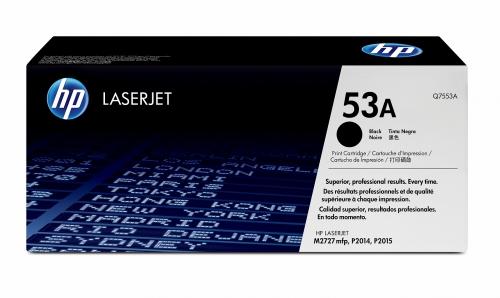 (Уценка)Картридж HP Q7553A - НТВ-1 для LaserJet P2015  черный  (3 000 стр.)