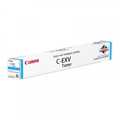 Тонер CANON C-EXV51L C (26000 стр., голубой)