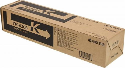 (Уценка)1T02LK0NL0 Тонер-картридж Kyocera TK-8305K - НТВ-1 для TASKalfa 3050ci/3550ci  черный  (25 000 стр.)