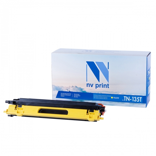 Картридж NVP совместимый NV-TN-135T Yellow для Brother (4000 стр)