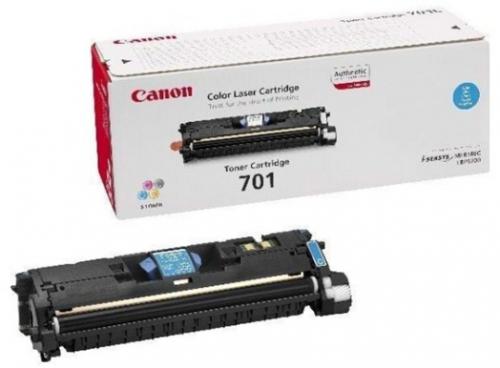 (Уценка) Картридж CANON 701 C - НТВ-1 (9286A003) для  i-SENSYS LBP5200, MF8180C  голубой  (5 000 стр.)