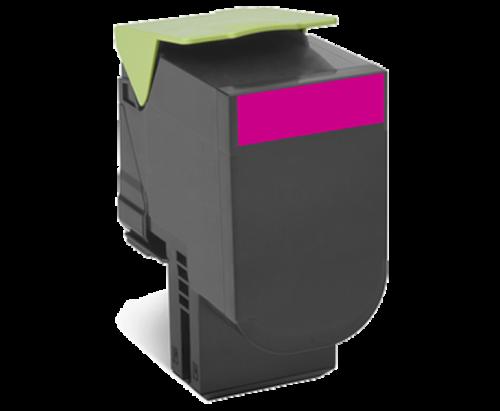 Оригинальный картридж Lexmark 80C8HME (3000 стр., пурпурный)