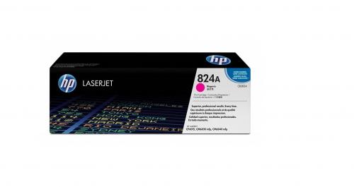 (Уценка)Картридж HP CB383A - НТВ-1 для Color LaserJet CP6015, CM6030, CM6040  пурпурный  (19 500 стр.)