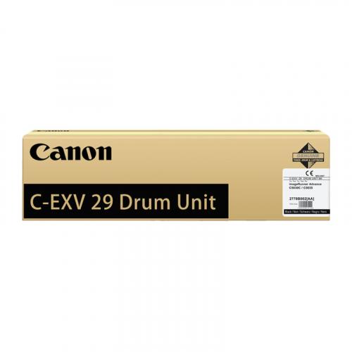 Оригинальный блок фотобарабана CANON C-EXV29 BK 2778B003 (16900 стр., черный)