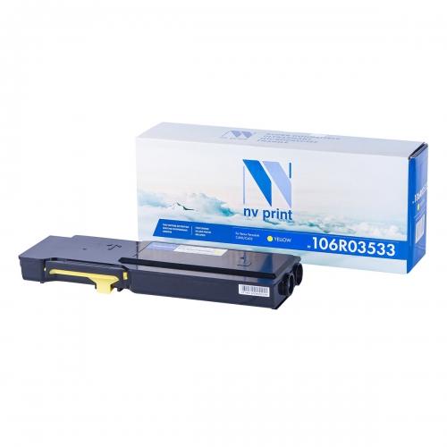 Картридж NVP совместимый NV-106R03533 Yellow для Xerox VersaLink C400/C405 (8000 стр)