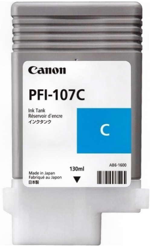 (Уценка)Картридж Canon PFI-107C 6706B001