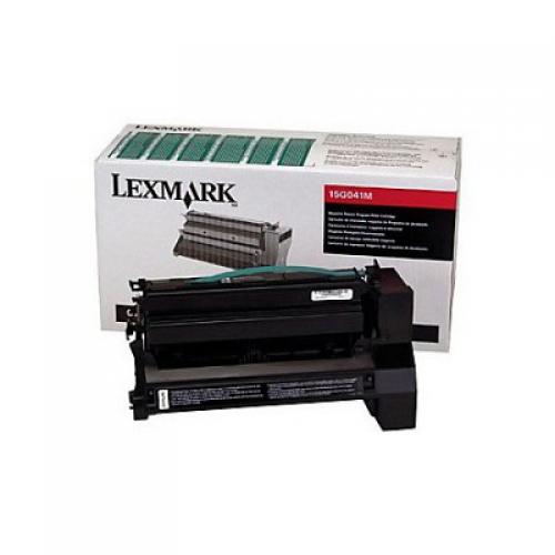 Оригинальный картридж Lexmark 15G041M (6000 стр., пурпурный)