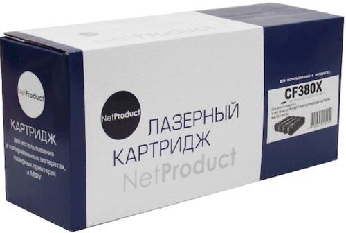 Совместимый картридж NetProduct CF380X (4 400 стр., черный)