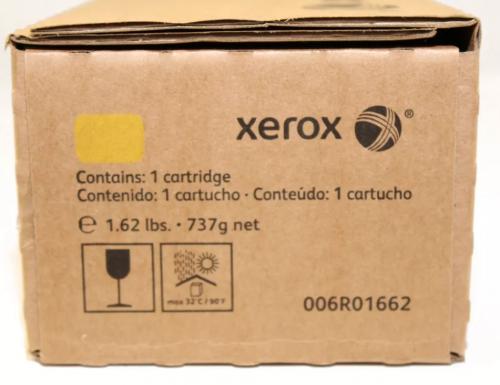 Оригинальный тонер-картридж Xerox 006R01662 (34000 стр., желтый)