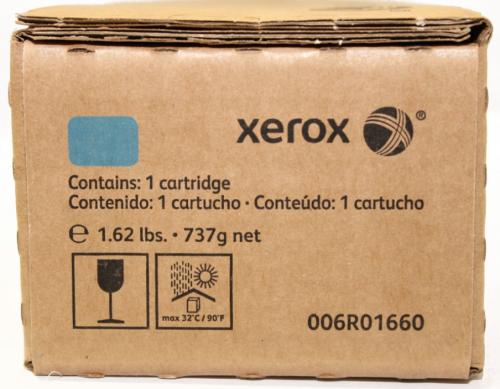 Оригинальный тонер-картридж Xerox 006R01660 (34000 стр., голубой)