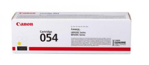 Оригинальный картридж Canon 054 Y 3021C002 желтый для i-SENSYS MF645Cx, LBP623Cdw, MF641Cw, MF643Cdw, MF645Cx, LBP621Cw