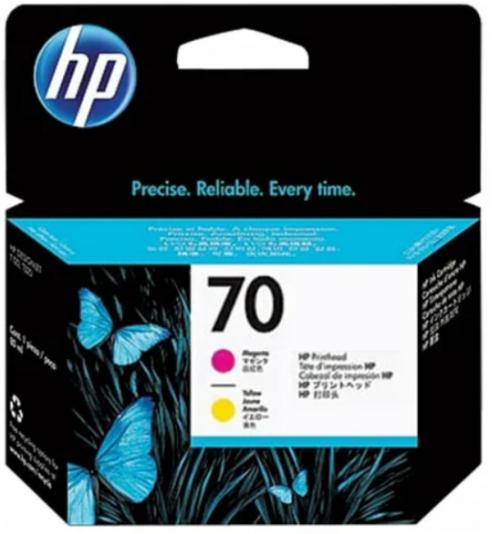 Оригинальный картридж HP C9406A (16000 стр., пурпурный + желтый)