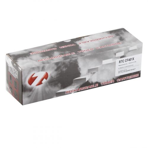BFHPLJM252110 Тонер-картридж HP Color LJ M252 Т-к CF401X(201X) Cyan (2.3k). 7Q BFHPLJM252110