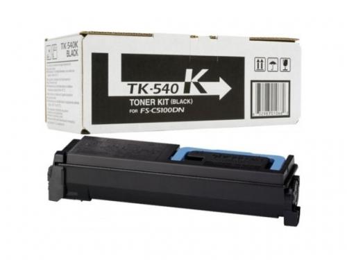 (Уценка)Тонер-картридж Kyocera TK-540K (1T02HL0EU0) - НТВ-3 для FS-C5100DN  черный  (5 000 стр.)