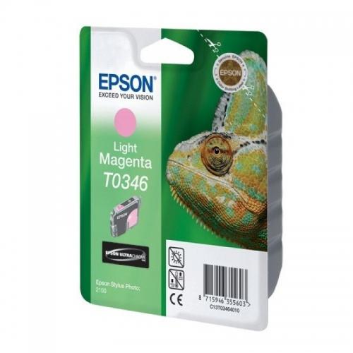 Оригинальный картридж EPSON T0346 (440 стр., светло-пурпурный)