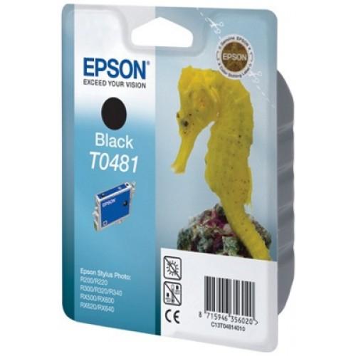 Оригинальный картридж EPSON T0481 (630 стр., черный)