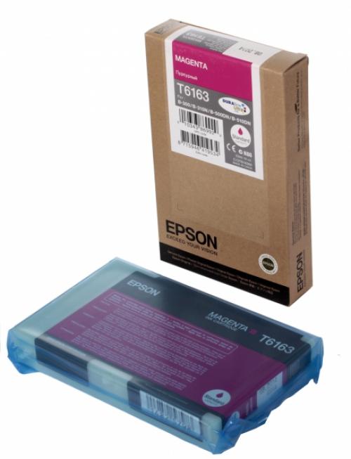 Оригинальный картридж EPSON T6163 (3000 стр., пурпурный)
